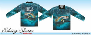 Barra Fever - Barramundi Obsession Fishing Shirt