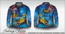 Load image into Gallery viewer, Cheers to the Weekend Fishing Shirt - Murray Cod