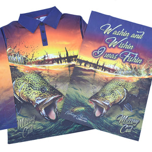 Murray Cod Surface Strike Fishing Shirt