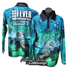 Load image into Gallery viewer, Bass Fever - Australian Bass Obsession Fishing Shirt