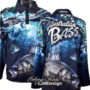 Australian Bass Fishing Shirt