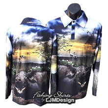 Load image into Gallery viewer, Billabong Boar Fishing Shirt
