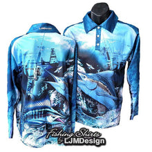 Load image into Gallery viewer, Billfish Fishing Shirt
