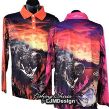 Load image into Gallery viewer, Boar Barra Fishing Shirt