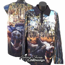 Load image into Gallery viewer, Bush Boar Fishing Shirt