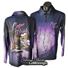 Load image into Gallery viewer, Cape York Discovery Fishing Shirt - Purple