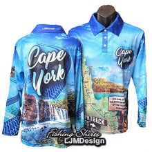 Load image into Gallery viewer, Cape York Tour Fishing Shirt - Blue