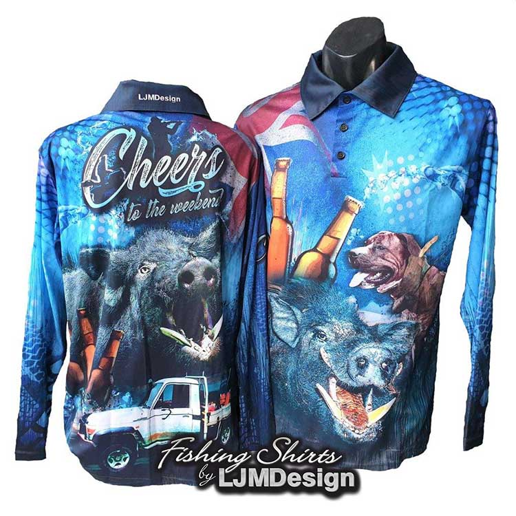 Cheers to the Weekend Fishing Shirt - Hunting
