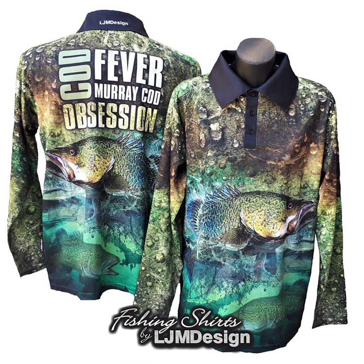 Cod Fever - Murray Cod Obsession Fishing Shirt