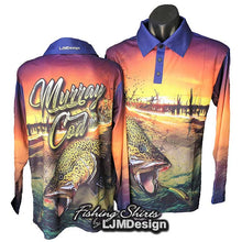 Load image into Gallery viewer, Murray Cod Surface Strike Fishing Shirt