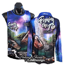 Load image into Gallery viewer, Fishing the Tip Fishing Shirt