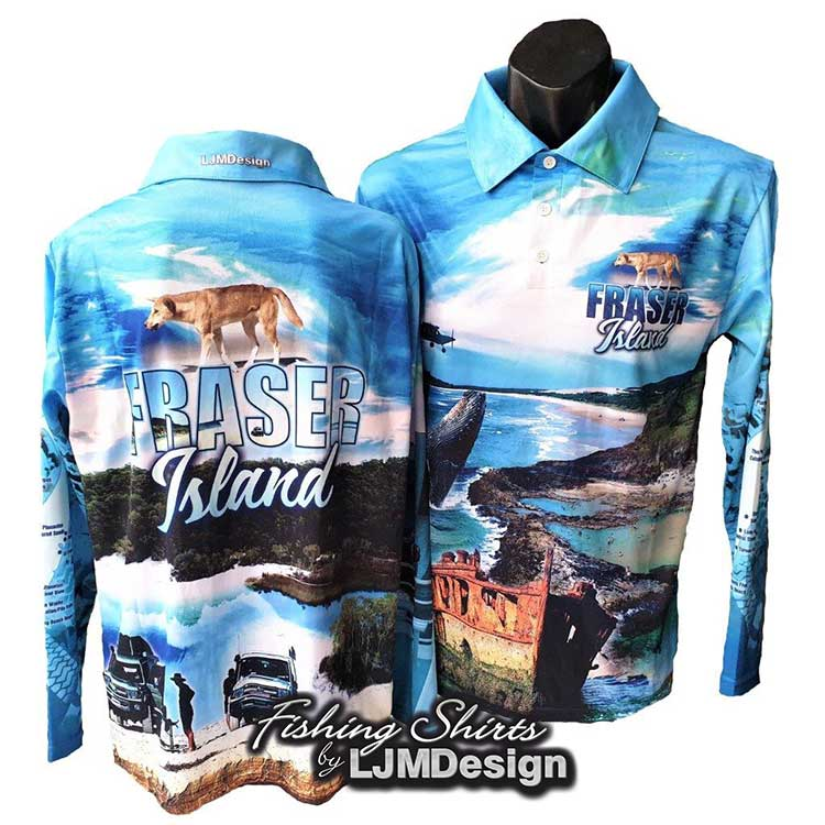 Complete Fraser Island Fishing Shirt - Blue