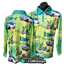 Load image into Gallery viewer, Fraser Island Fishing Shirt - Beers Bogs BBQ