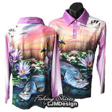 Load image into Gallery viewer, Lily Barra Fishing Shirt - Barramundi