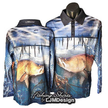 Load image into Gallery viewer, Tinaroo Barra Fishing Shirt