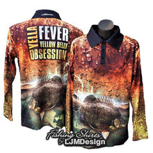 Load image into Gallery viewer, Yella Fever - Yellowbelly Obsession Fishing Shirt