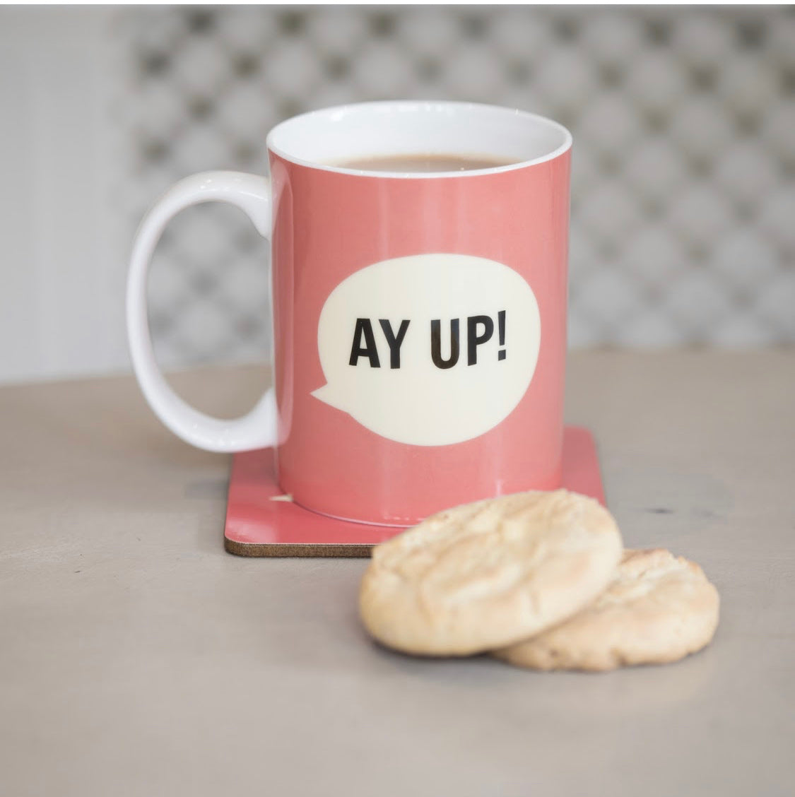 Yorkshire Mug - 'Ay up'