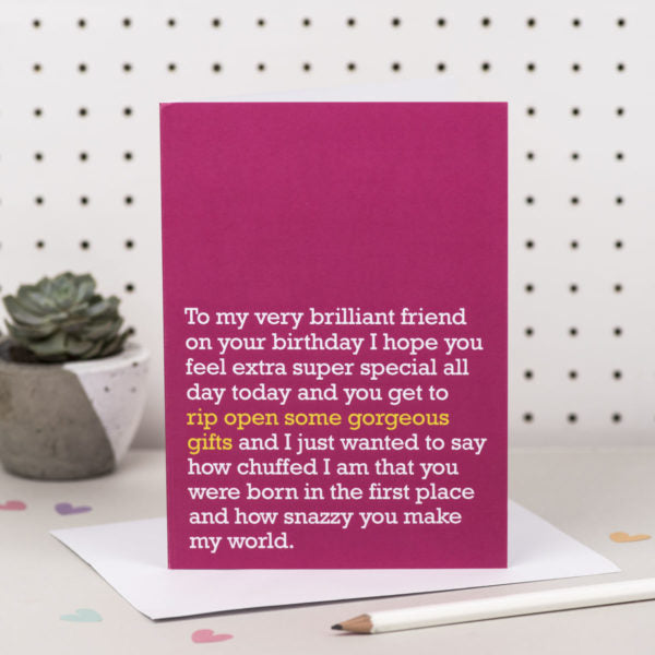 'Open some Gorgeous Gifts' Card