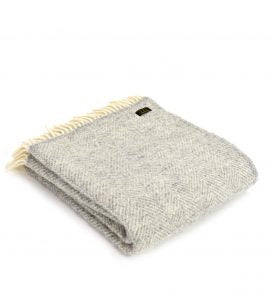 Wool Blanket - Fishbone
