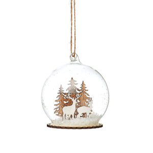 Christmas Glass Baubles