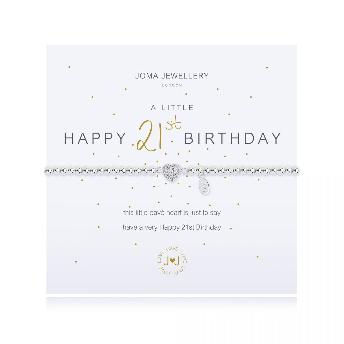 Joma Jewellery 'A Little' 21st Birthday