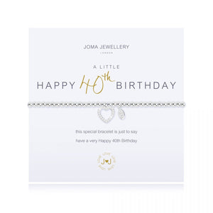 Joma Jewellery 'A Little' 40th Birthday