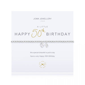 Joma Jewellery 'A Little' 50th Birthday