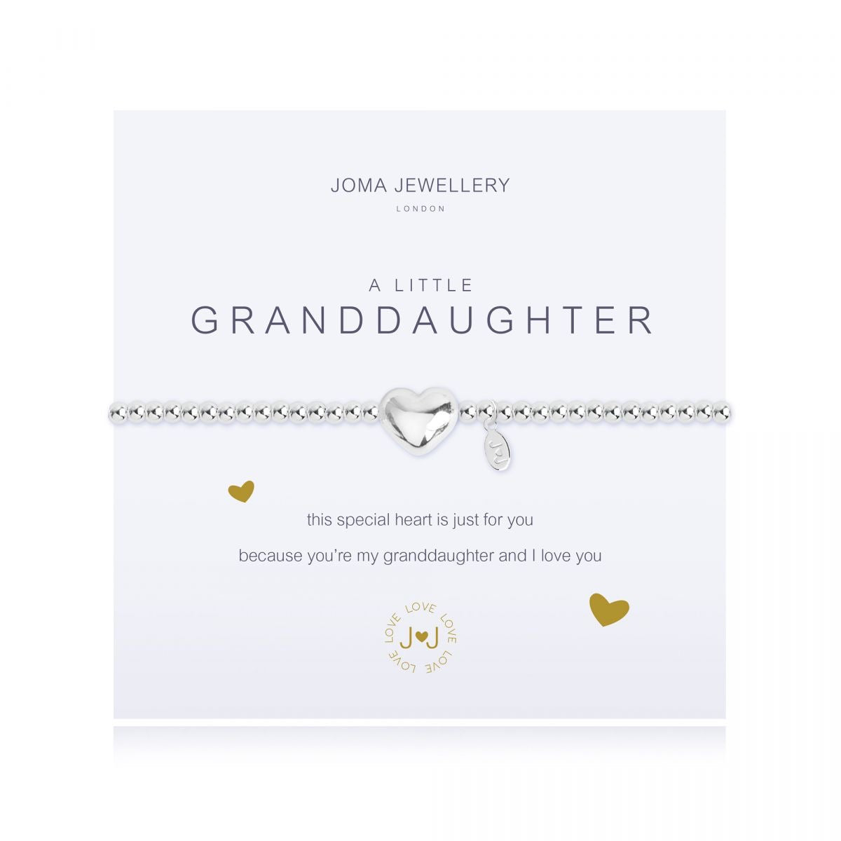 Joma Jewellery 'A Little' Granddaughter