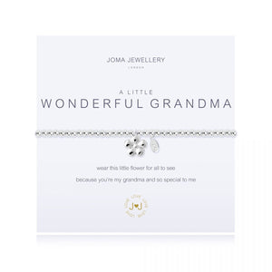 Joma Jewellery 'A Little' Wonderful Grandma