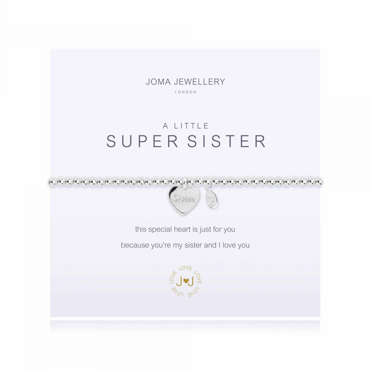 Joma Jewellery 'A Little' Super Sister