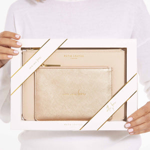 Katie Loxton Perfect Pouch Gift Set - Love