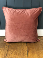 Load image into Gallery viewer, Velvet Ilkley Map Cushion