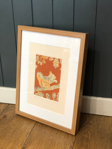 Framed Ilkley Squirrel Picture