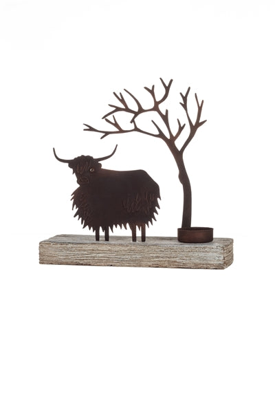 Votive - Highland Cow