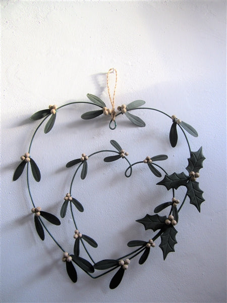 Christmas Wreath - Metal
