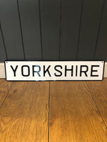 Load image into Gallery viewer, 'Yorkshire' Enamel Sign