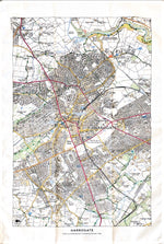 Load image into Gallery viewer, Map Tea Towel