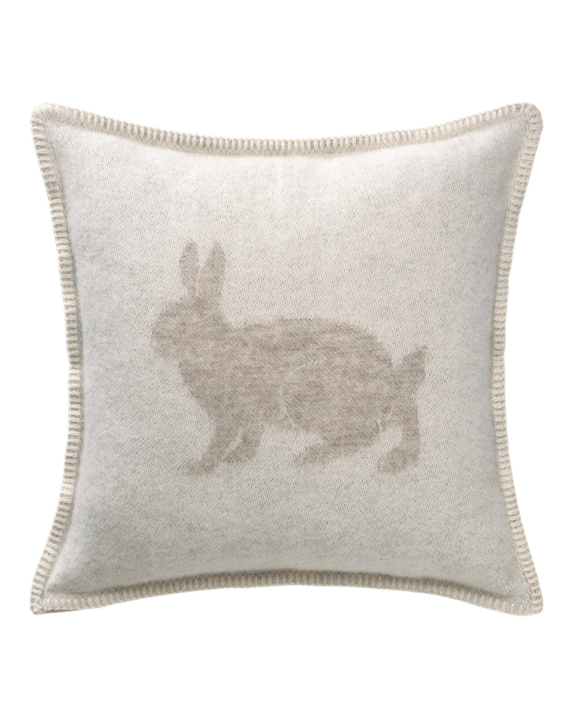 Hare Wool Cushion