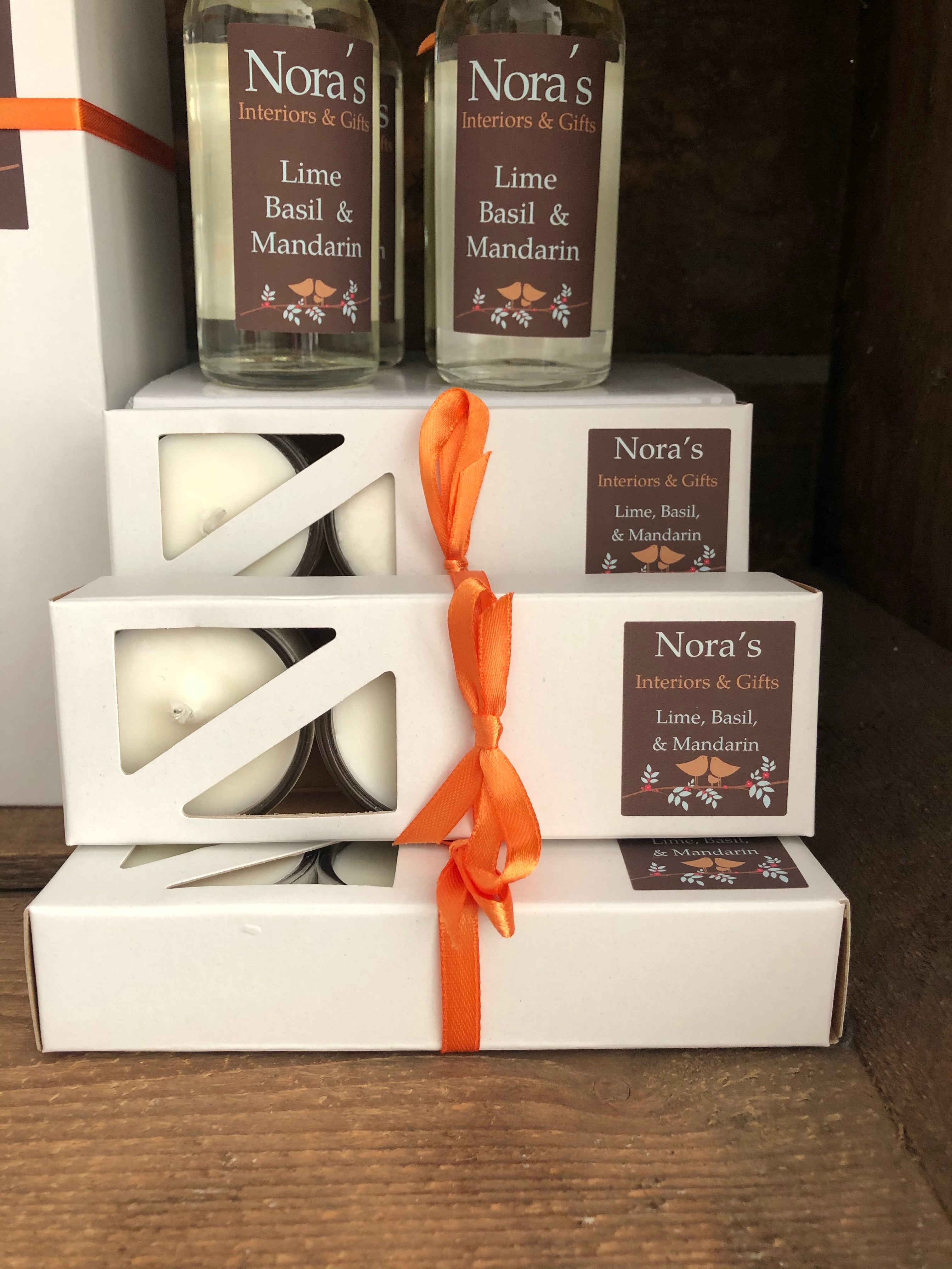 Nora's Scented Tealights