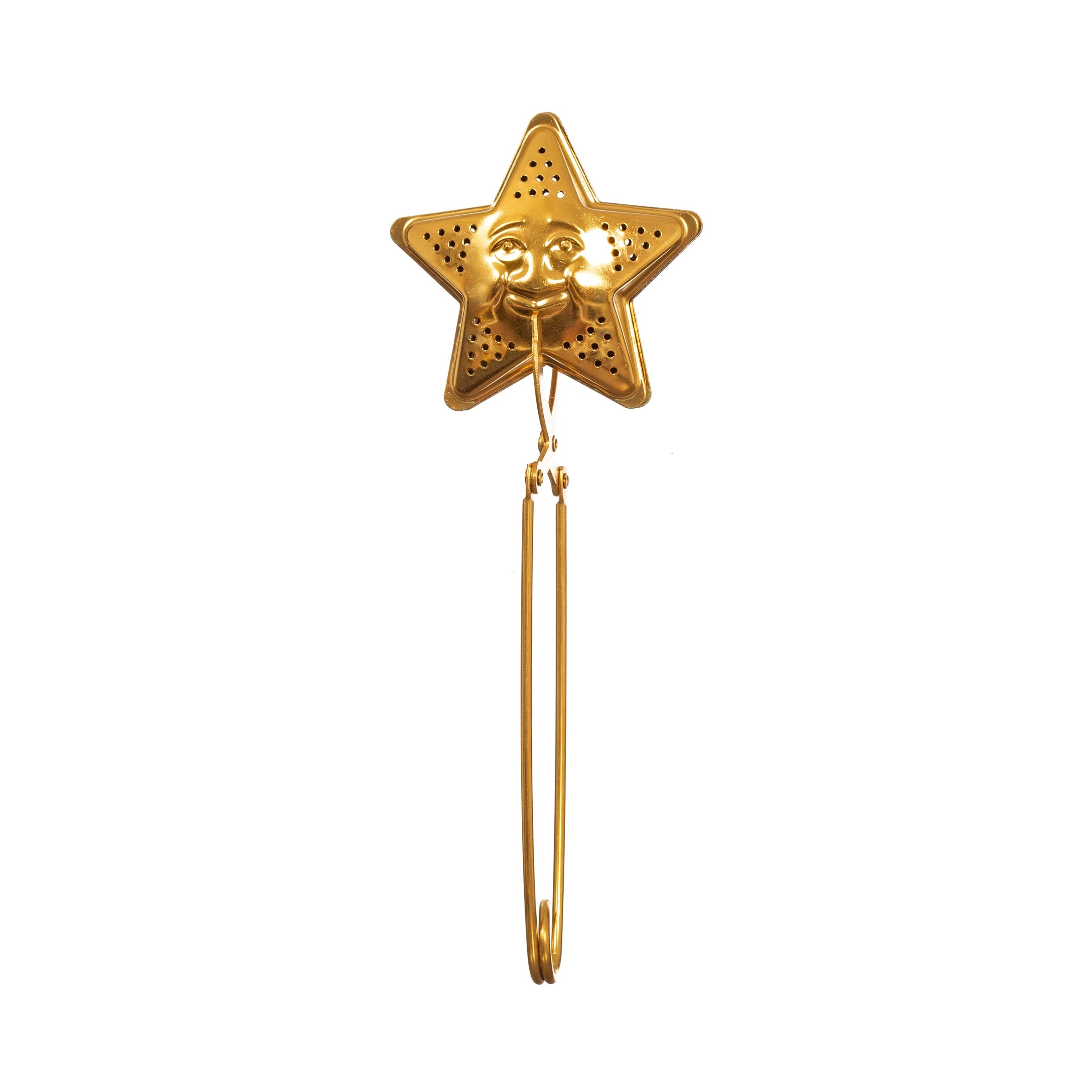Brass Tea Infuser - Star