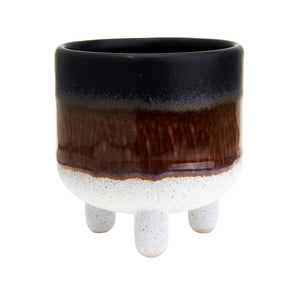 Glaze Planter - Black