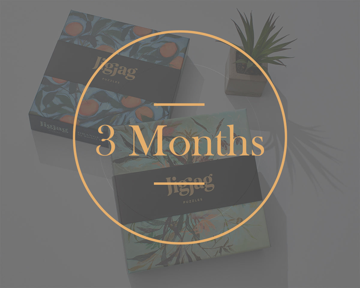3 Month Prepaid/Gift Subscription