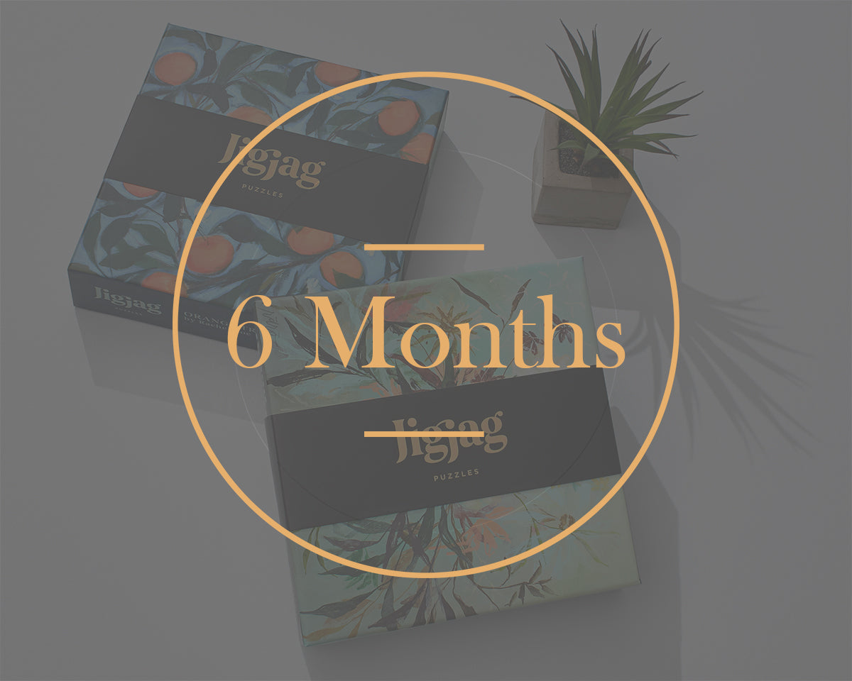 6 Month Prepaid/Gift Subscription