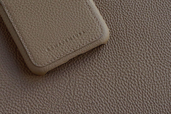 Introducing Full Grain (Shrunken) leather