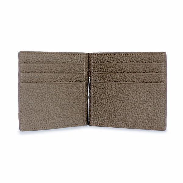Men's Bi-Fold Wallet with Moneyclip