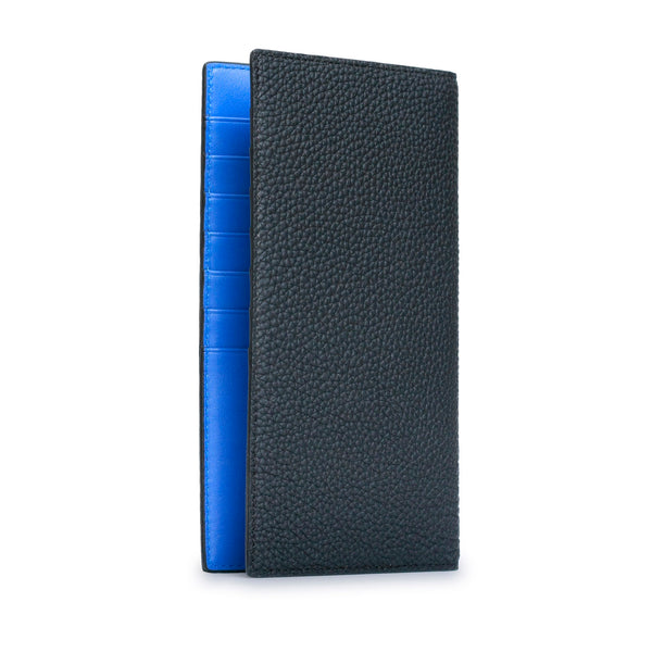 Long Bi-Fold Vertical Wallet