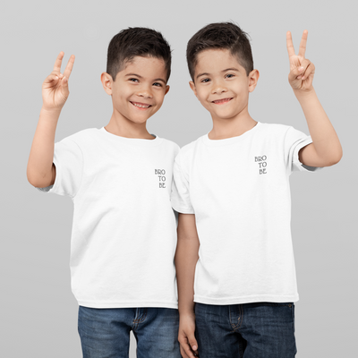T-SHIRT ENFANT - 100 % COTON BRO TO BE - liyahug