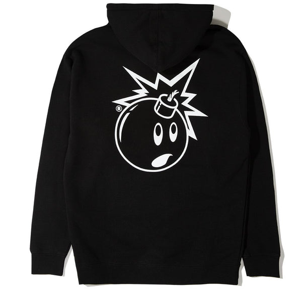 Simple Adam Pullover Hoodie - Black