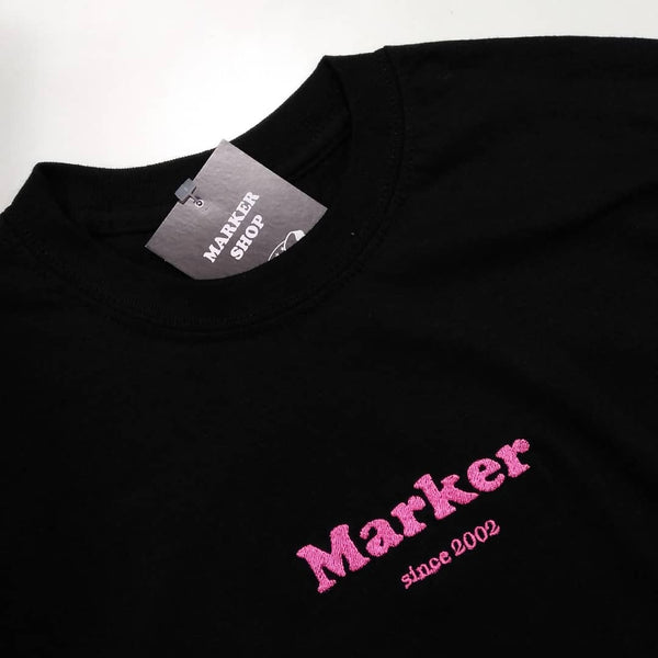 Marker Embroidered Tee