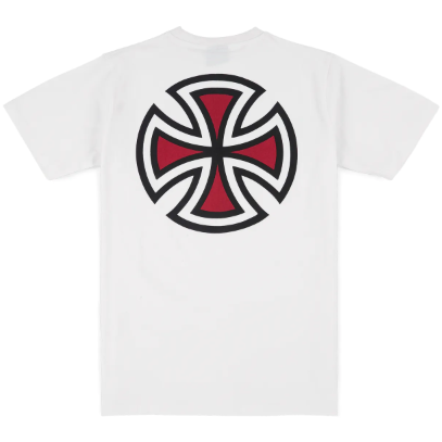 Bar Cross Tee - White